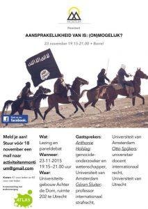 Aansprakelijkheid van IS (on)mogelijk